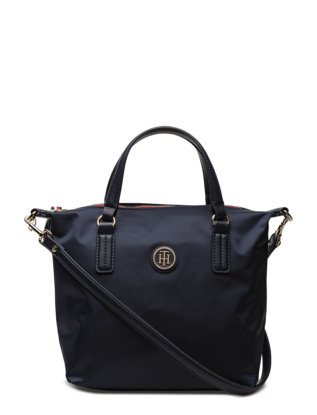 Tommy Hilfiger Laukut Miehet : Poppy small tote tommy navy