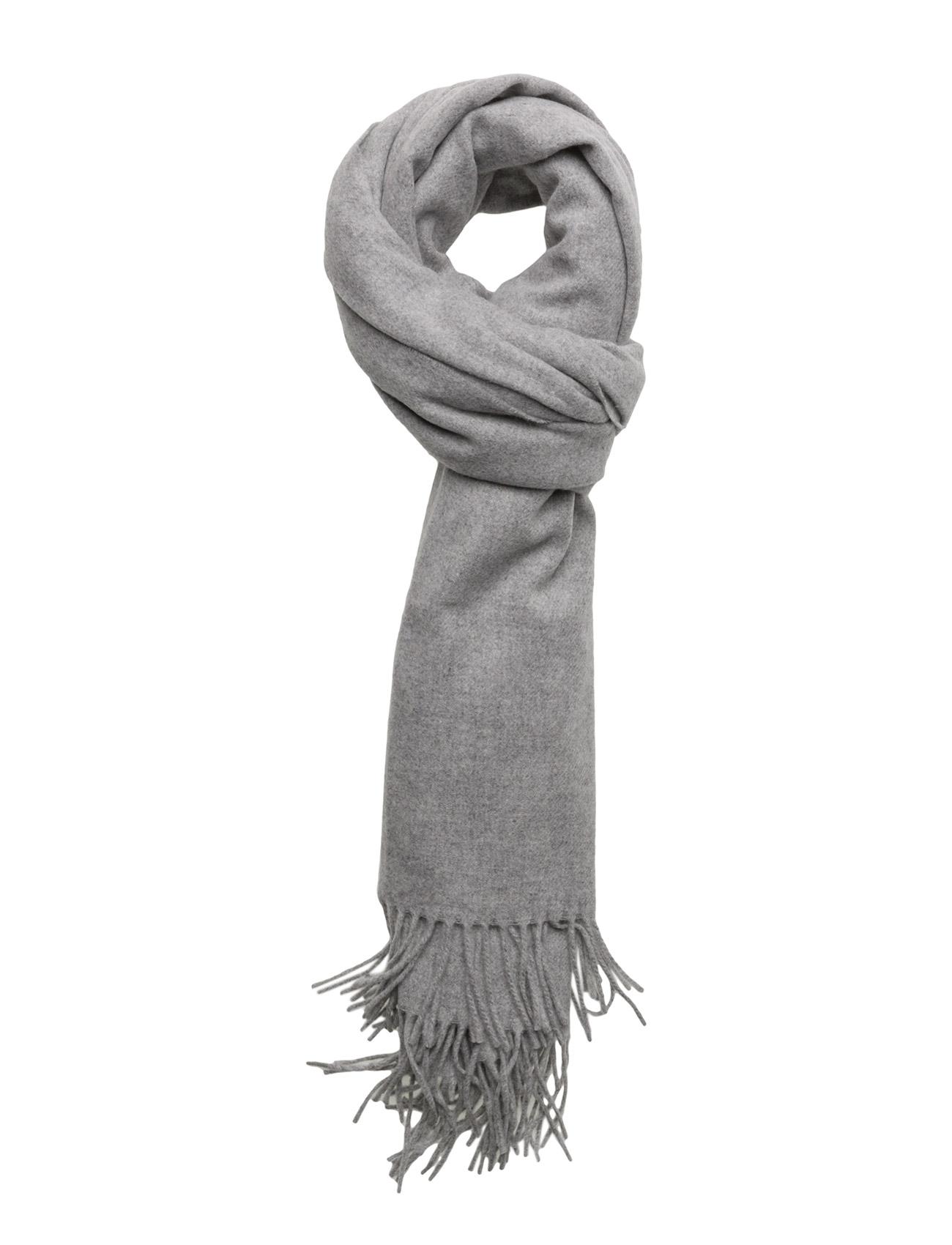 Th Wool Scarf Tommy Hilfiger Halstørklæder til Damer i Grå