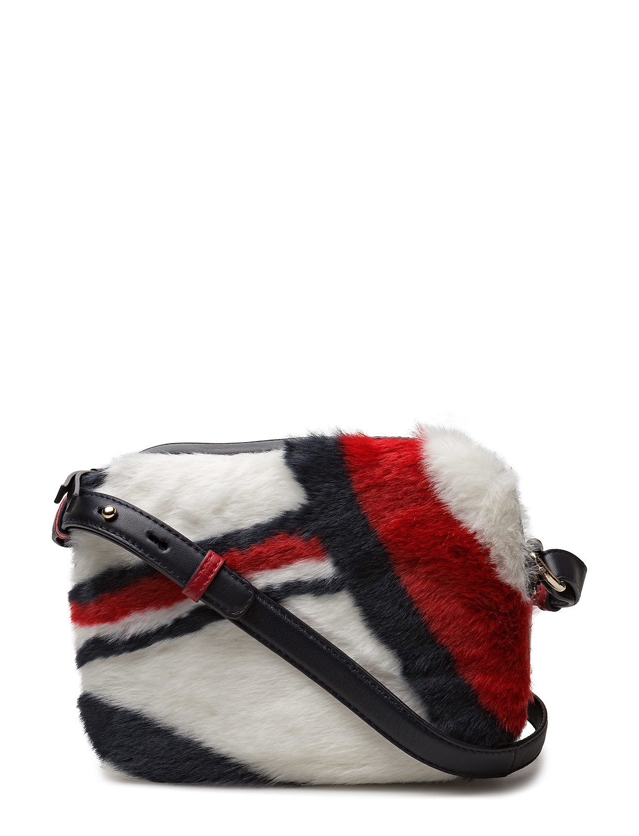 Tommy Hilfiger ICONIC CAMERA BAG LEATHER FUR