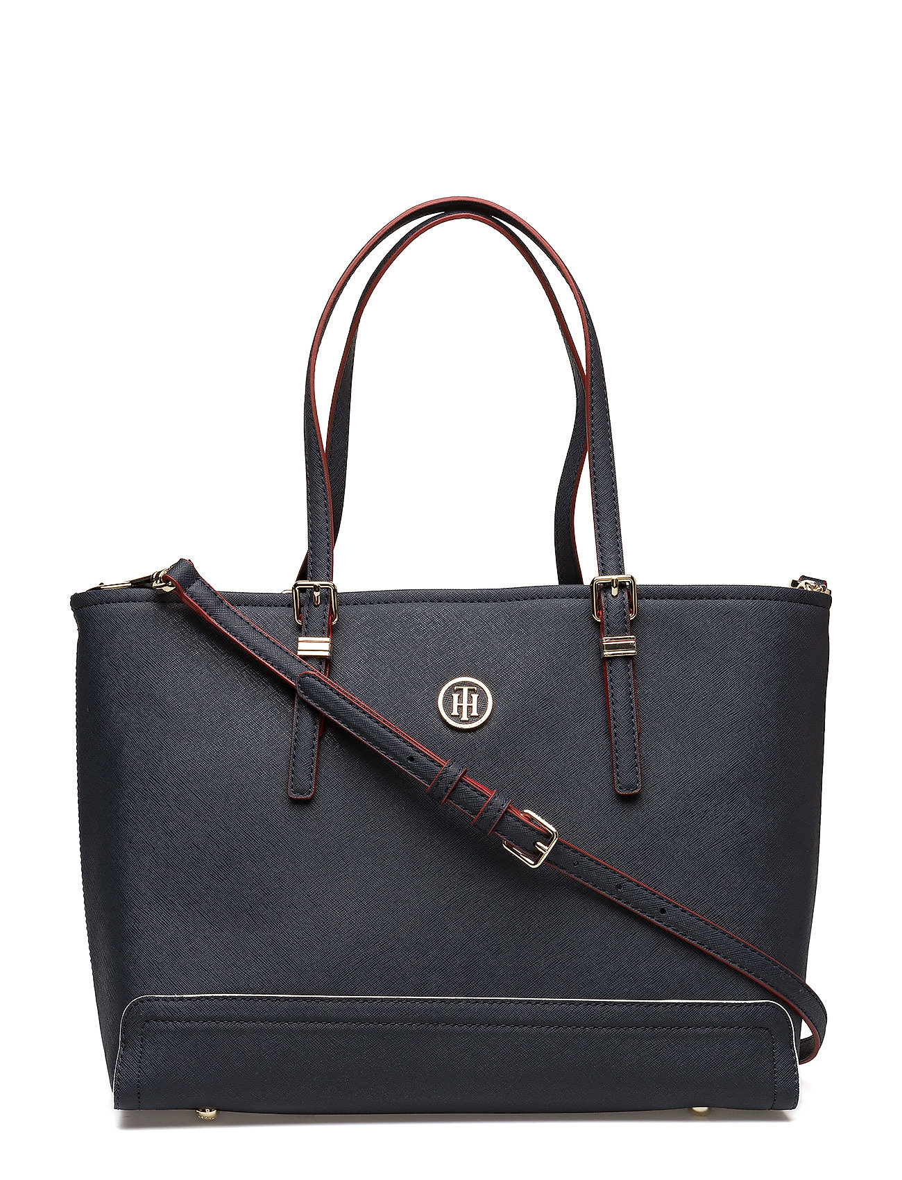 Tommy Hilfiger Laukut Miehet : Honey med tote tommy navy edge paint