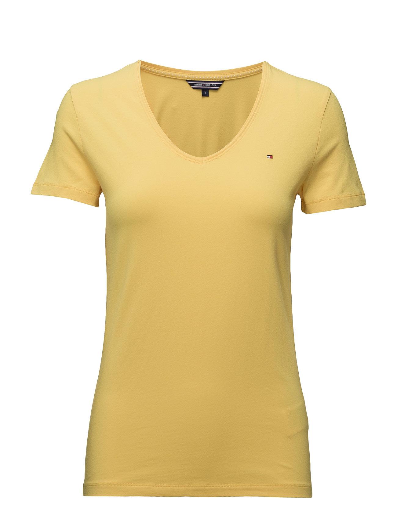 Lizzy V-Nk Top Ss Tommy Hilfiger T-shirts & toppe til Kvinder i