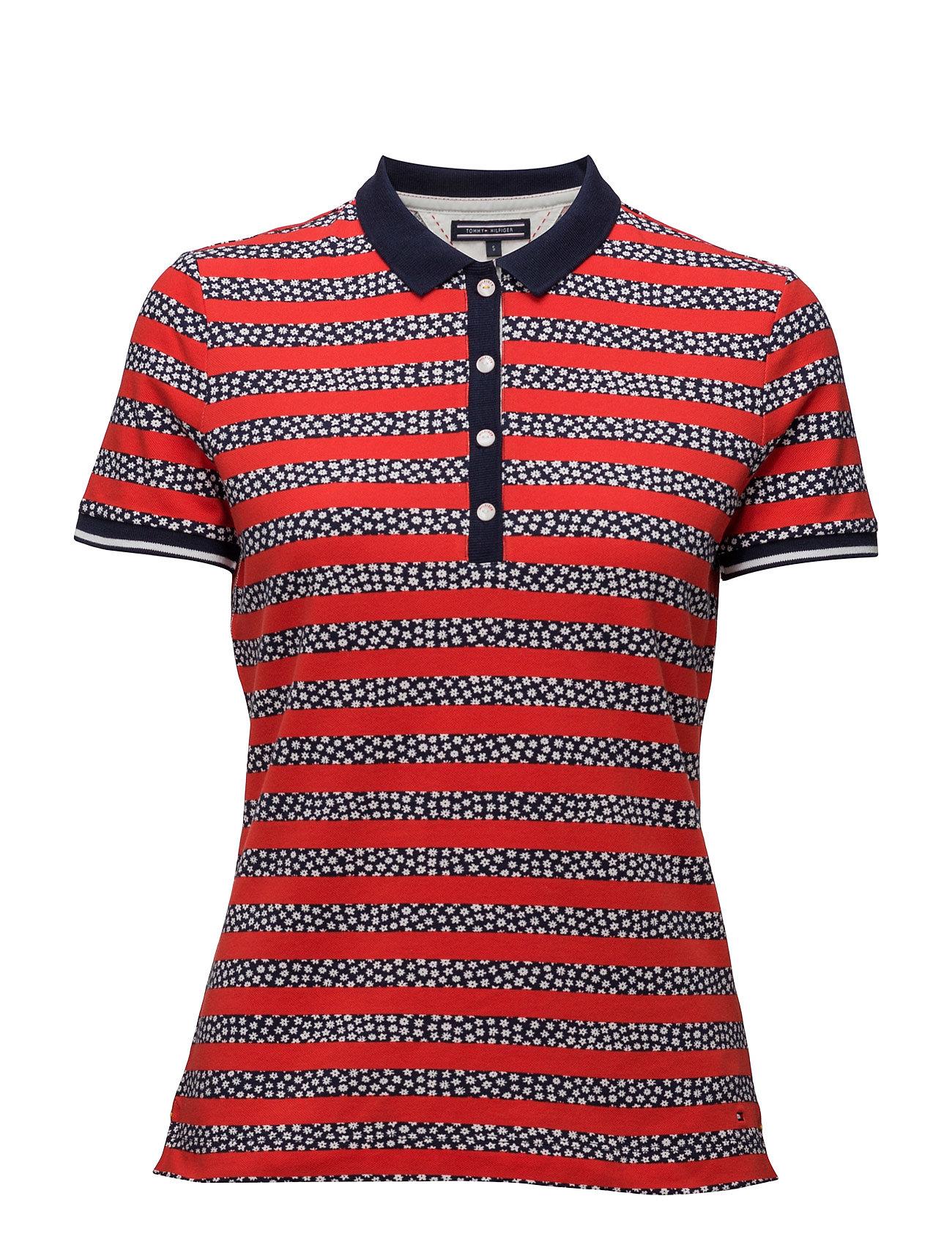 Cordelia Polo Ss Tommy Hilfiger Polo t-shirts til Damer i Blå