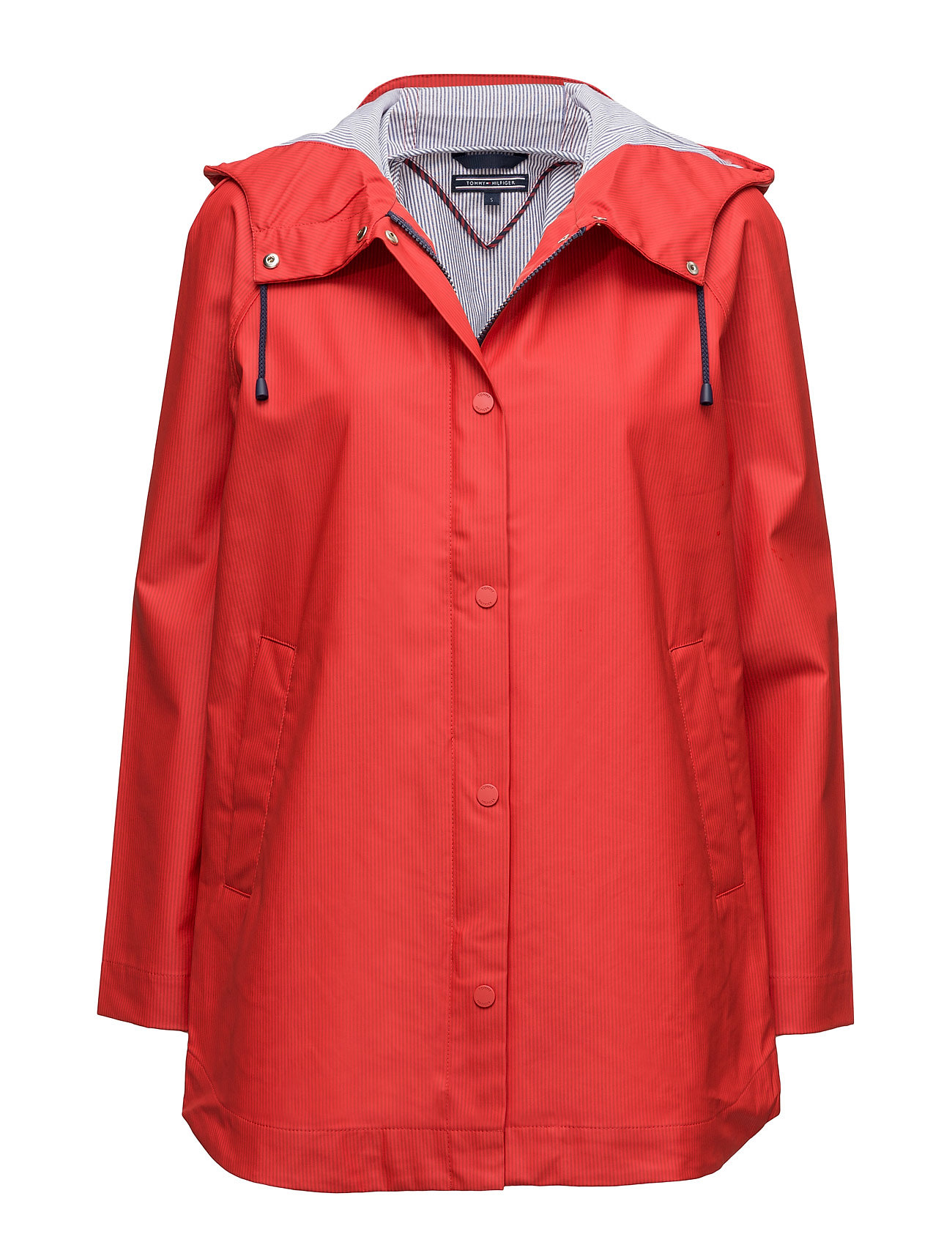 Bonnie Rainwear Parka Tommy Hilfiger Regntøj til Damer i Rød