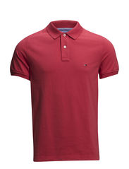 SLIM FIT POLO S/S SF - RED
