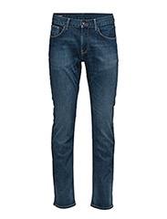 DENTON B MIDDLE BLUE STRETCH - DENIM