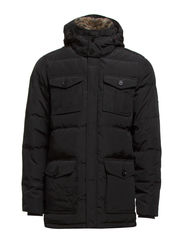 DOUG PARKA - FLAG BLACK