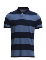 BORIS STP POLO S/S SF - BLUE