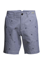 BROOKE 8 SHORT ITHACA STP - BLUE