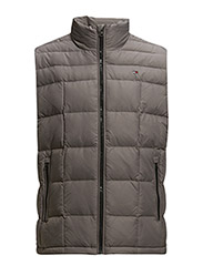 NEW YORK DOWN VEST - GREY