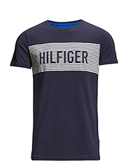 HUTTON STRETCH TEE S/S SF - BLUE