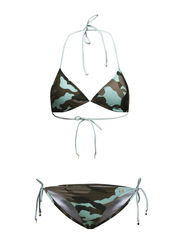 MARFA CAMO TRIANGLE SET - GREEN