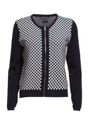 RULO CHECKED C-NK CARDI - 403