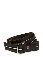 TH STP WEBBING BELT 3.5 - GREEN