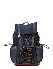 TH HIKING BACKPACK, - TOMMY NAVY