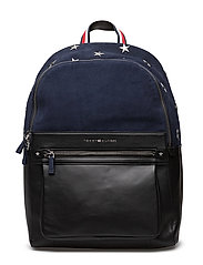 ICONS BACKPACK SUEDE - NAVY MIX