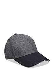 MELTON CORPORATE CAP - GREY