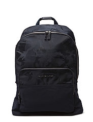 TAILORED NYLON BACKPACK - BLUE