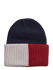OVERSIZE CORPORATE BEANIE - BLUE