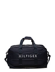 LIGHT NYLON DUFFLE - TOMMY NAVY
