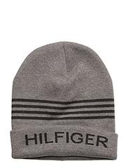 HILFIGER BEANIE - GREY