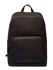TH DIAGONAL BACKPACK - COFFEE BEAN