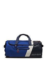 BLOCK STORY DUFFLE, - TOMMY NAVY
