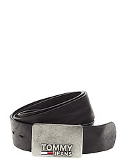 TJM PLAQUE BELT 4.0, - BLACK