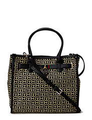 LOUISE AMERICAN ICON TOTE - BLACK