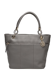 TH SIGNATURE TOTE - GREY