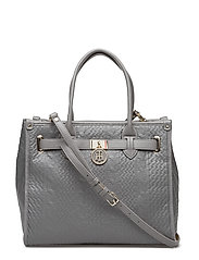 AMERICAN ICON TOTE KNITTED TEXTURE - GREY