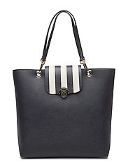 EFFORTLESS NOVELTY TOTE STRIPE - BLUE
