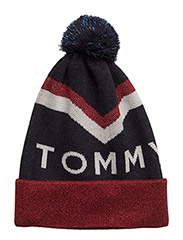 TOMMY CHEVRON POM PO - TOMMY NAVY