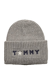 TOMMY PUNCH BEANIE - GREY