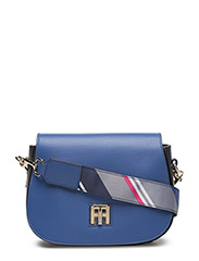 TH TWIST SADDLE BAG LEATHER HELLA S - BLUE