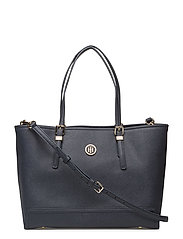 HONEY MED TOTE - TOMMY NAVY