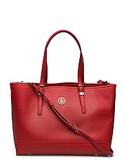 HONEY MED TOTE - TOMMY RED