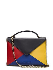 GEO BLOCK LEATHER CL - COLOUR MIX