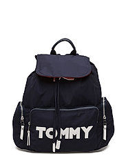 TOMMY NYLON BACKPACK - TOMMY NAVY