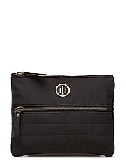 CHIC NYLON POUCH - BLACK