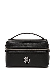 TH CORE MAKE UP BAG, - BLACK