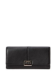 INGRID LARGE E/W WALLET - BLACK
