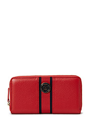 CLAIRE LARGE ZA WALLET - RED