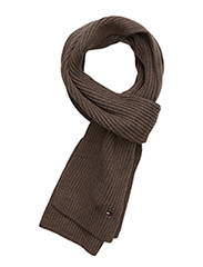 PIMA CTN CASHMERE SCARF - WALNUT HEATHER-EUROPE