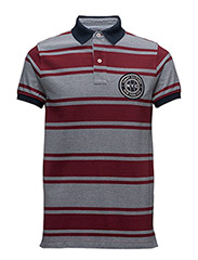 BAXTER STP POLO S/S SF - RED
