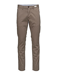 DENTON CHINO ORG STR TWILL - GREY