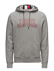 TOMMY CHEST LOGO HOO - CLOUD HTR