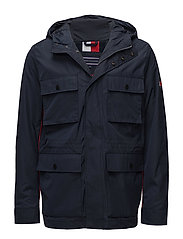 MIX HOODED FIELD JAC - SKY CAPTAIN