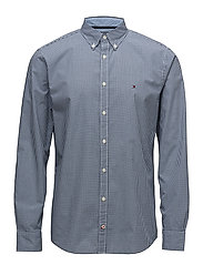 CLASSIC CHECK SHIRT - ESTATE BLUE / BRIGHT WHITE