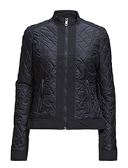 TANYA QUILTED COMBO JKT - BLUE