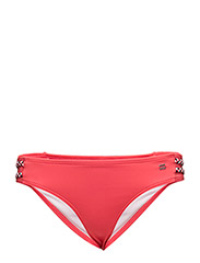 GRACE BRAIDED BRIEF - RED